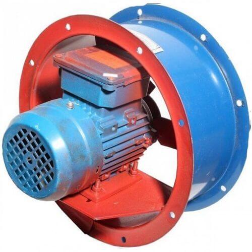 Осевые вентиляторы среднего давления