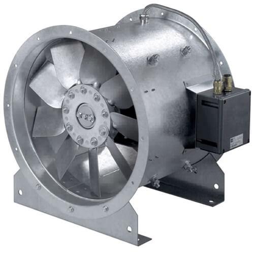 Взрывозащищенные осевые вентиляторы