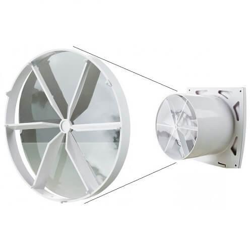 Вытяжные вентиляторы с обратным клапаном