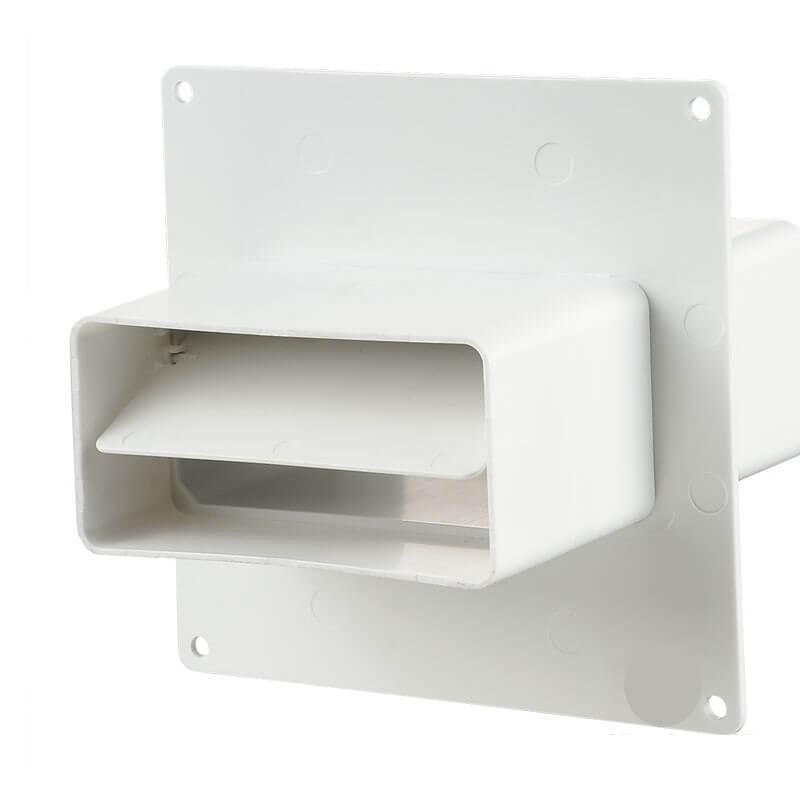 5551 Соединитель с внешним клапаном и пластиной 55*110